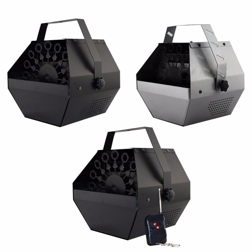 Mini Portable Auto Bubble Machine with Remote Control Electric Bubble Machine for DJ Bar Party Show