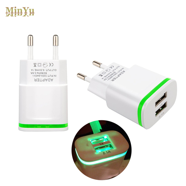 US EU Plug Dual USB Wall Charger Adapter Cable For Huawei MediaPad T2 8 Pro 100 M2 10 Nova Plus G9 Travel