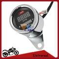 Universal ATV Motocicleta RPM Tacómetro Digital Medidor De Combustible Moto Instrumento Indicador LED Display DC 12 V Envío Gratis