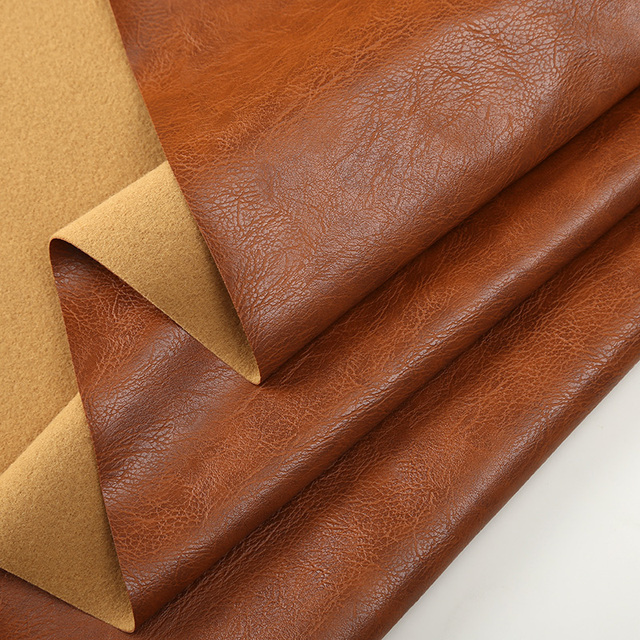 1 Meter Quality Faux Leather Fabric For Sofa Soft Artificial Clothing Wallpaper Synthetic Upholstery