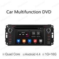 Quad Core Car DVD Android 4 4 For Jeep Dodge Chrysler GPS NAVI RADIO BT 800