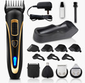 Rechargeable Professional Hair Clipper Blade Trimmer Shaver Salon Haircut Barber Cut for Adults Kids Baby