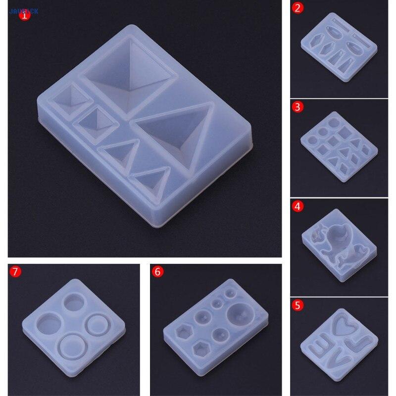 Silikon Form Spiegel Für Handwerk Diy Schmuck Machen Anhänger Epoxy Harz Kuchen Erkenntnisse 6 Art Heiße Neue Schmuck & Zubehör Schmuckwerkzeuge & Ausrüstung