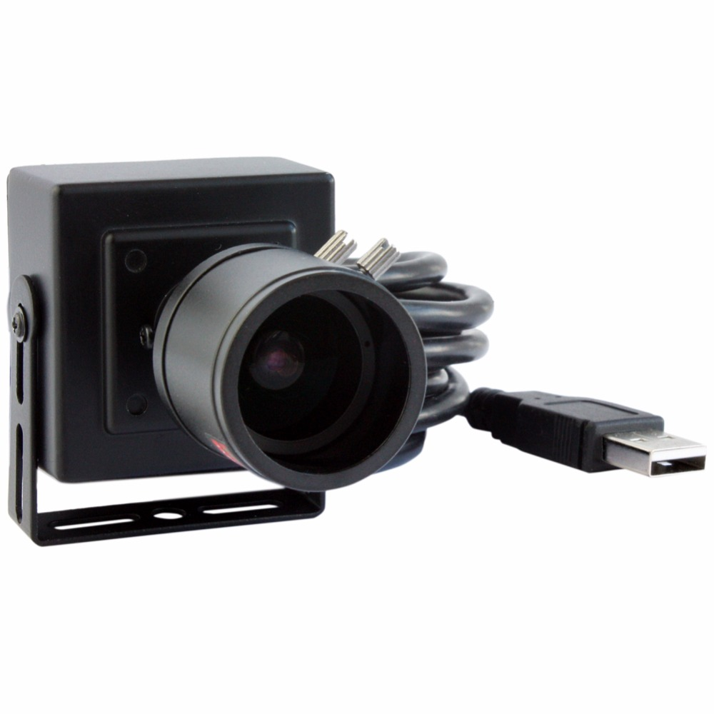 ELP 2 mégapixels full HD 1080 P faible éclairage H.264 caméra vidéo usb avec objectif varifocal 2.8-12mm - 2