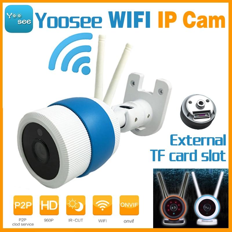 Yoosee App Hd 960P Wifi Wireless IP Network Camera P2P Onvif IR-Cut Night Vision CCTV Surveillance 6pcs Array LED TF Card Slot zea hd721 720p hd ip network camera w tf 6 ir led white black multi colored 5v