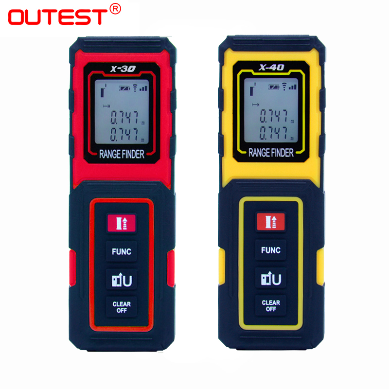 Outrest 30 m/40 m medidor a laser medidor medidor de distância a laser medidor digital medidor de distância medidor de medidor de medidor de distância medidor de medidor de distância