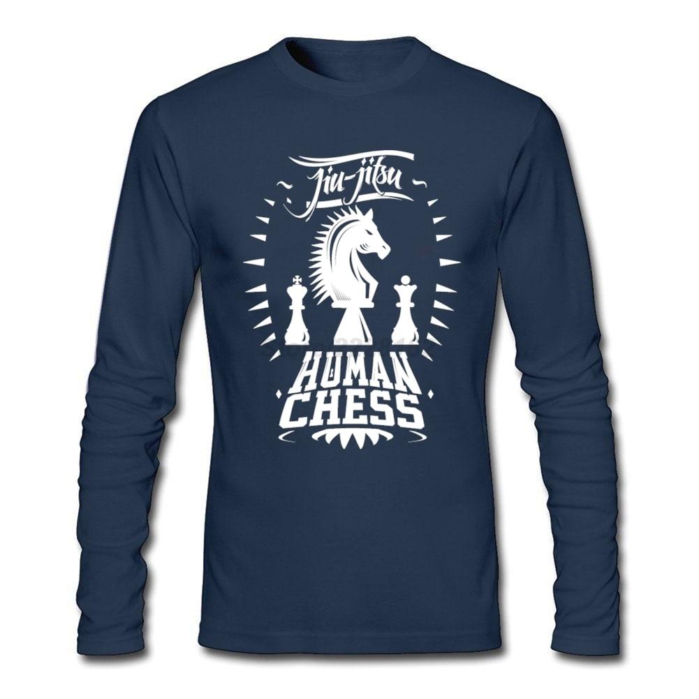 Human design t shirt - Jiu Jitsu Human Chess Men 39 S Black T Shirts Rock Band Customized T