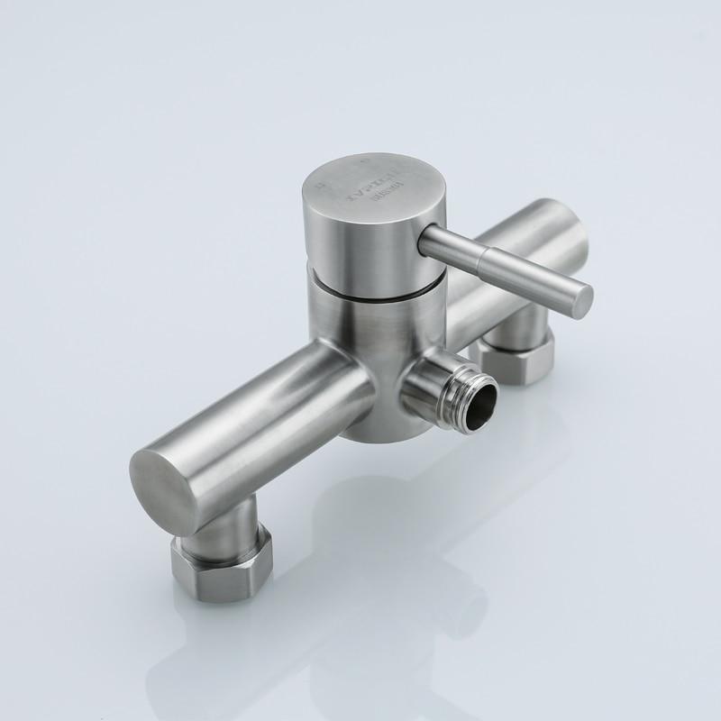 IVRICH настенный Ванная комната смеситель для душа все Нержавеющаясталь тела легкой чистки ванной кран ванны Водопад смеситель для ванной ва...