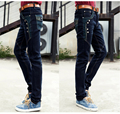 Clothing  jeans male slim skinny  autumn and winter thick