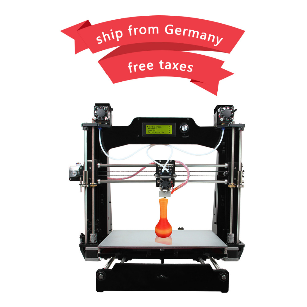 Geeetech M201 3D Printer 2 In 1 Out Extruder Reprap Prusa I3 DIY Kit STL G