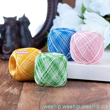 Японский сегмент окрашенная OLYMPUS кружевная линия tat ткачество нитки для ручного вязания нитки для вязания крючком Золотая этикетка № 40 1 заказ = 2 сумки