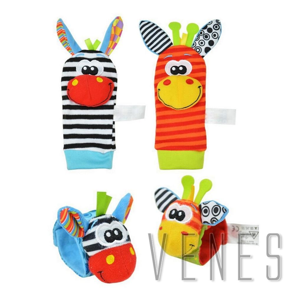 Photographic studio supplies, Baby Toys, Plush Animal Foot Socks, Watch Wrist Strap Babies, Educational Mobile Musical