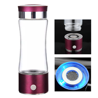 NEW SPE tech Portable Hydrogen Generator Water Ionizer Bottle 380ml Cup Pure H2 Water Ionizator Antioxidant ORP