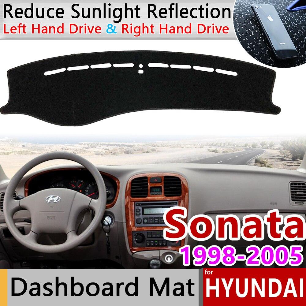 For Hyundai Sonata EF 1998 1999 2000 2001 2002 2003 2004 2005 Anti-Slip Mat Dashboard Cover Sunshade Dashmat Carpet Accessories