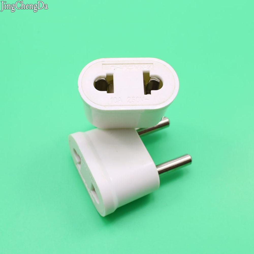 jcd 1pcs eu china plug adapter european euro eu kr cn ac. Black Bedroom Furniture Sets. Home Design Ideas