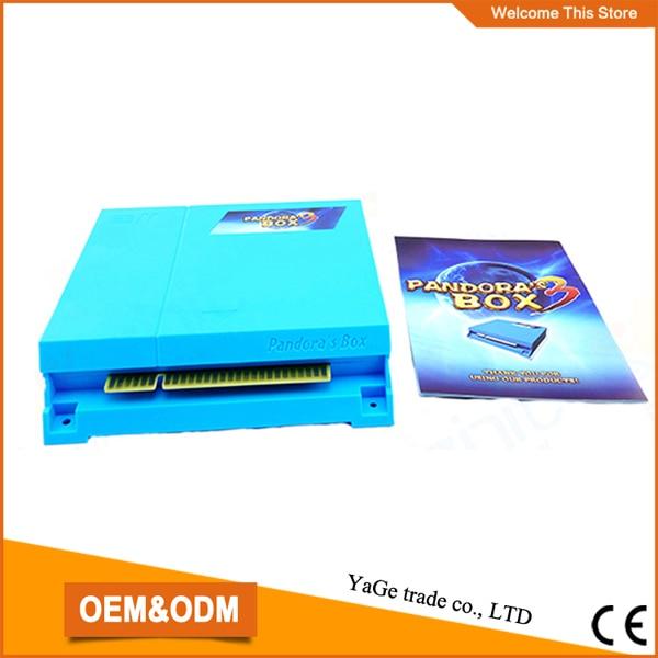 ФОТО HD Video VGA output  pcb/ game board/arcade pcb  Pandora's Box 3  multi games 520  in 1