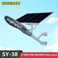 2016NEW Super bright 40W COB LED lamp solar street light 12V60W solar panel power Outdoor waterproof path light Ray+Time control