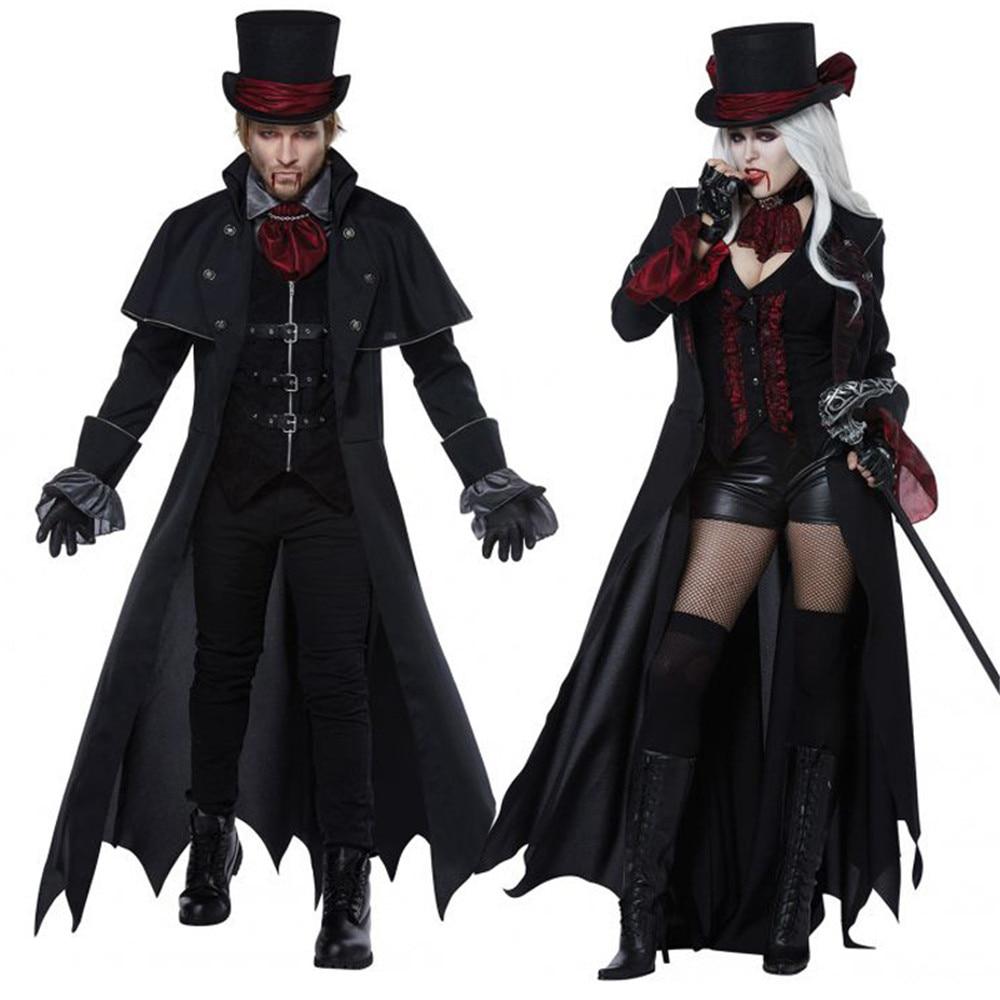 Cosplay Halloween costume adult men women couple vampire ...