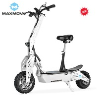 China MAXMOV 1800W BLDC Motor Off Road Mobility Scooter Electric with Alloy Front& Rear Fork
