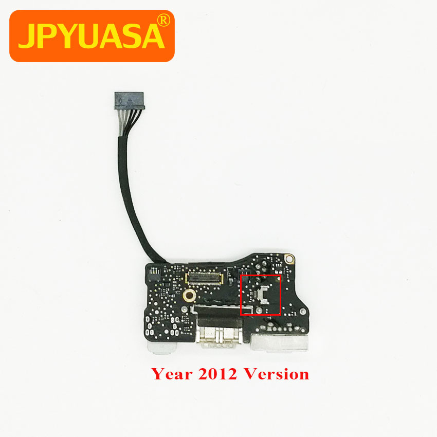 Original USB Jack DC Power Audio Board For MacBook Air 13 A1466 820-3214-A 2012 Year