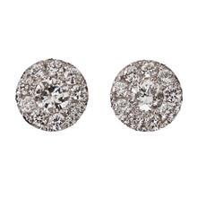 Серьги GVBORI из натуральных жемчужин с бриллиантами, 18 К, белое золото, женские серьги, роскошные классические модные ювелирные изделия