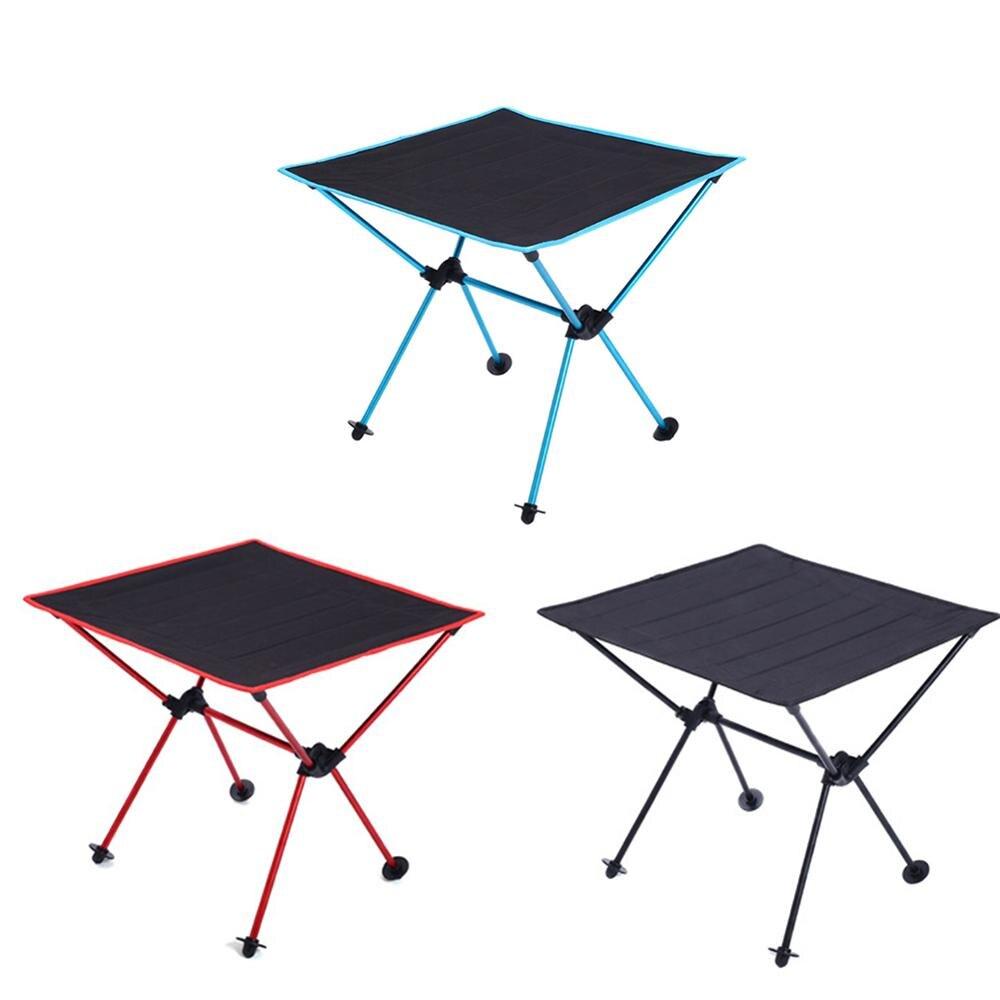 Table pliante légère portative extérieure de Camping Table de Barbecue de pique-nique d'alliage d'aluminium d'aviation de tissu d'oxford