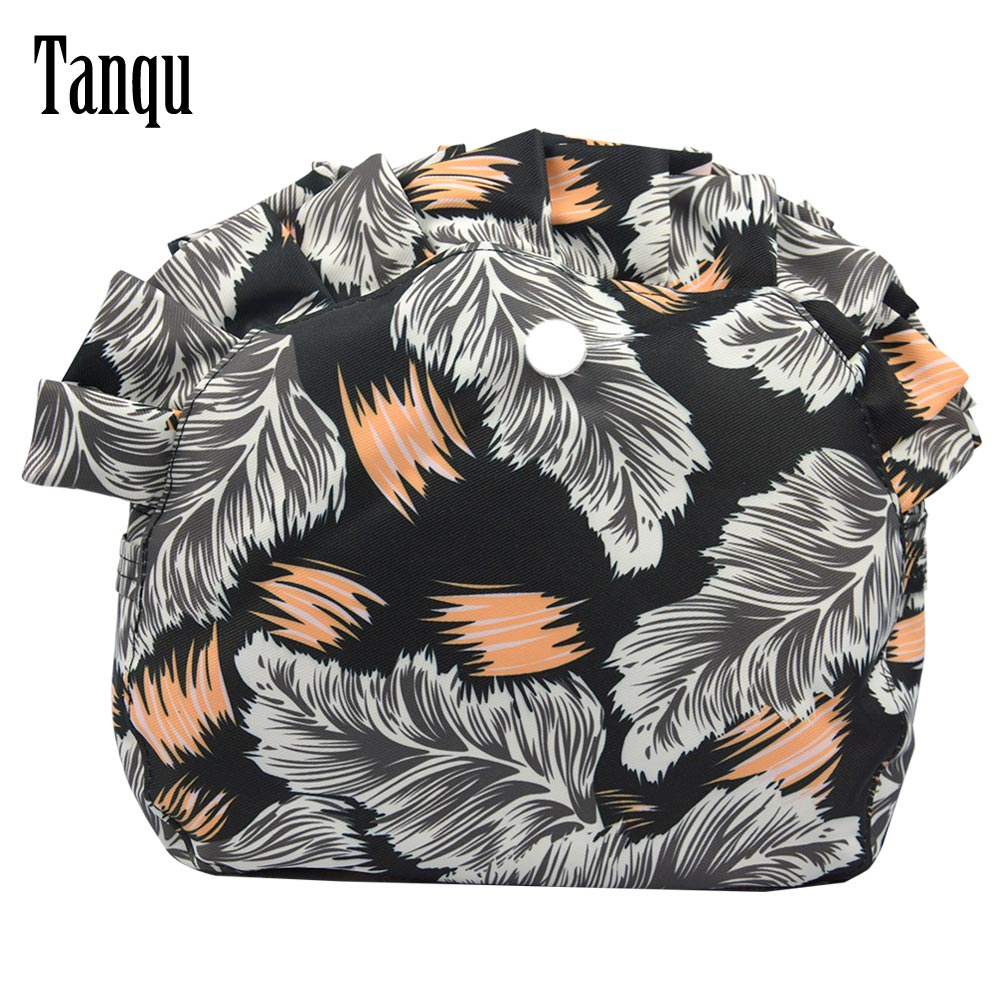 Tanqu New Colorful Twill Fabric Waterproof Lining For O Bag Moon Light Obag Pocket Lining Waterproof Organizer For Moon Baby