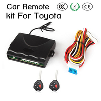 New!!Universal Car remote central locking kit for Toyota Lock Unlock Trunk open function Pneumatic/electronic lock 5169