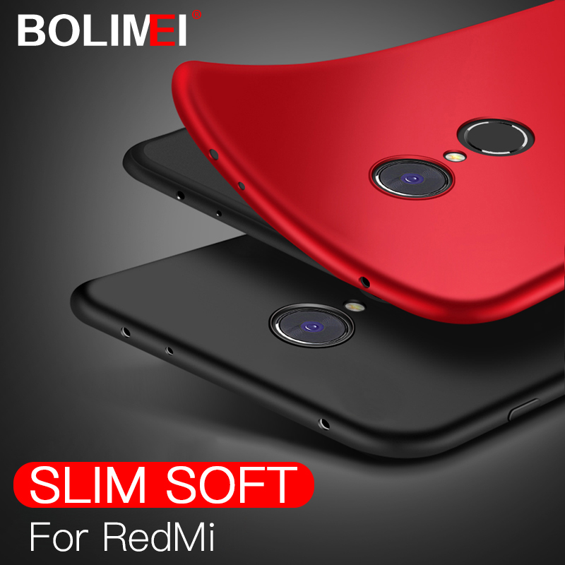 Matte TPU Silicon Phone Case For Xiaomi Redmi Note 4 4X 5A Case Frosted Back Cover For Redmi 6A 6 Pro 5 Plus 5A Mobile Cases(China)