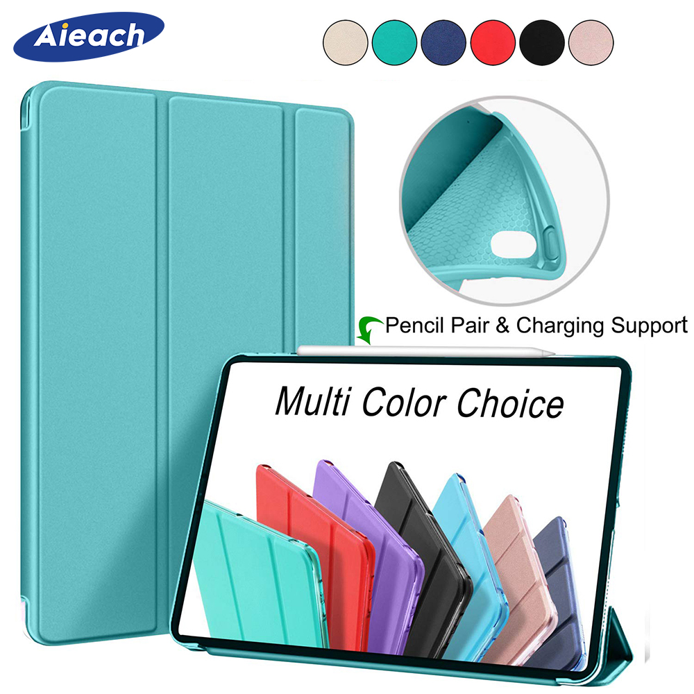 360 Full Cover For Apple New iPad Pro 11 Case 2018 Smart Leather Magnetic Stand Silicone Protective Case For iPad Pro 11 Funda360 Full Cover For Apple New iPad Pro 11 Case 2018 Smart Leather Magnetic Stand Silicone Protective Case For iPad Pro 11 Funda
