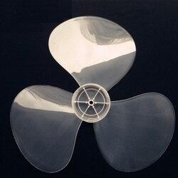 1 sztuk duży wiatr 16 cal 400mm wachlarz z tworzywa sztucznego ostrze biały 3 liść uniwersalny marka FAN w Części wentylatora od AGD na