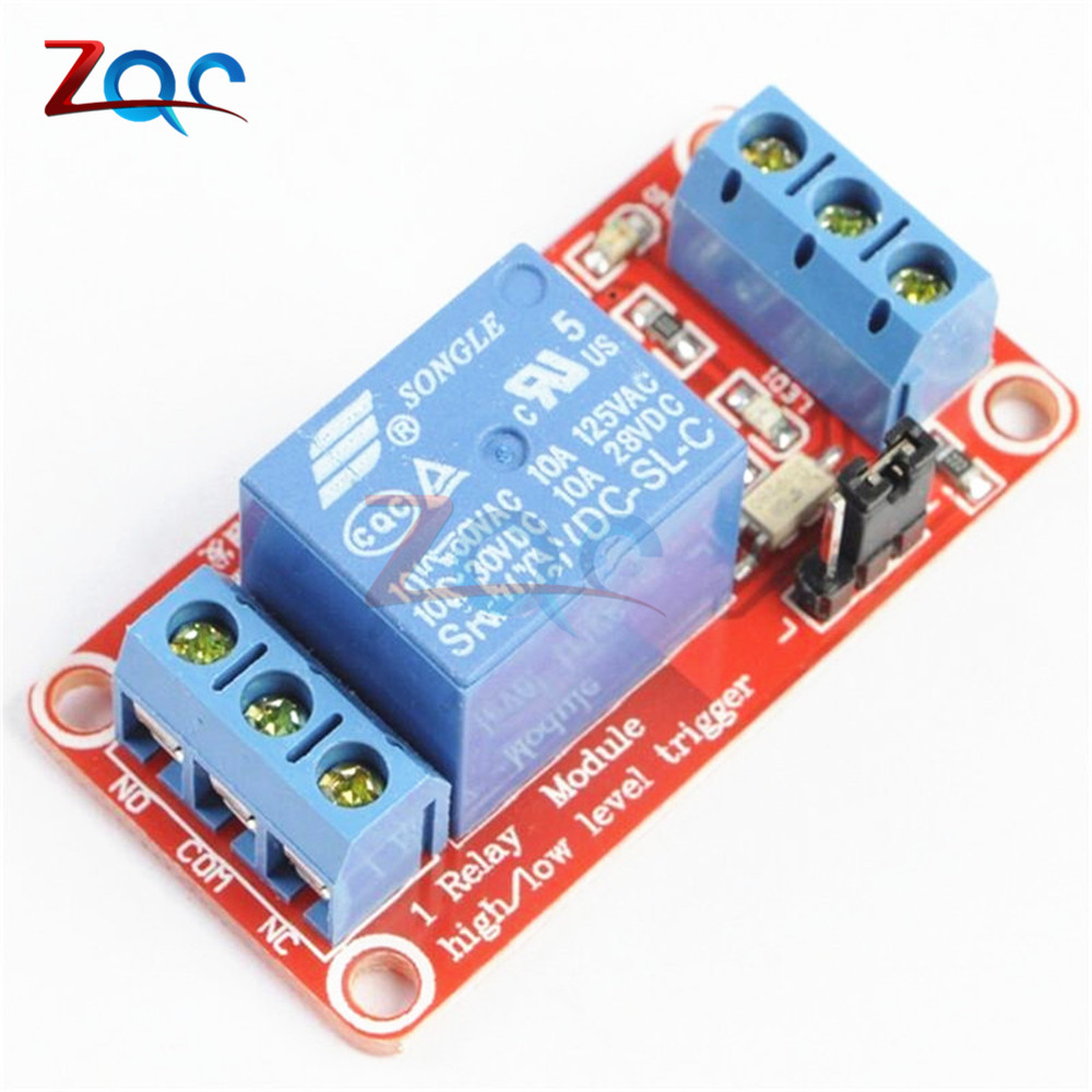 цена на One 1 Channel 12V Relay Module Board Shield With Optocoupler Support High And Low Level Trigger Power Supply Module For Arduino