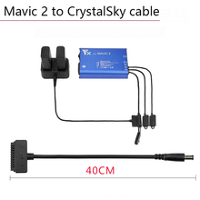 Buy Battery Charging Cable Line HD Screen Connect Cable Adapter for DJI Mavic 2 To CrystalSky Mavic 2 Pro Zoom Charger Accessories directly from merchant!