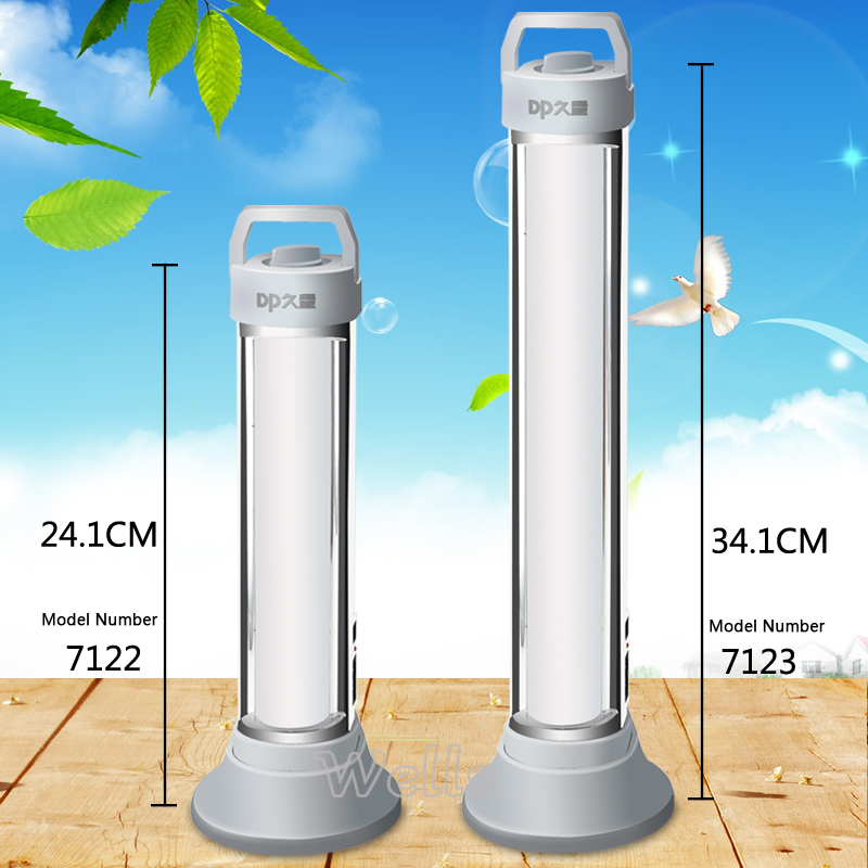 6W Rechargeable Led Camping Solar Lamp Light 60LED Table Lamp Beads SOS Emergency Light LED Tube Reading Book Night Light Indoor