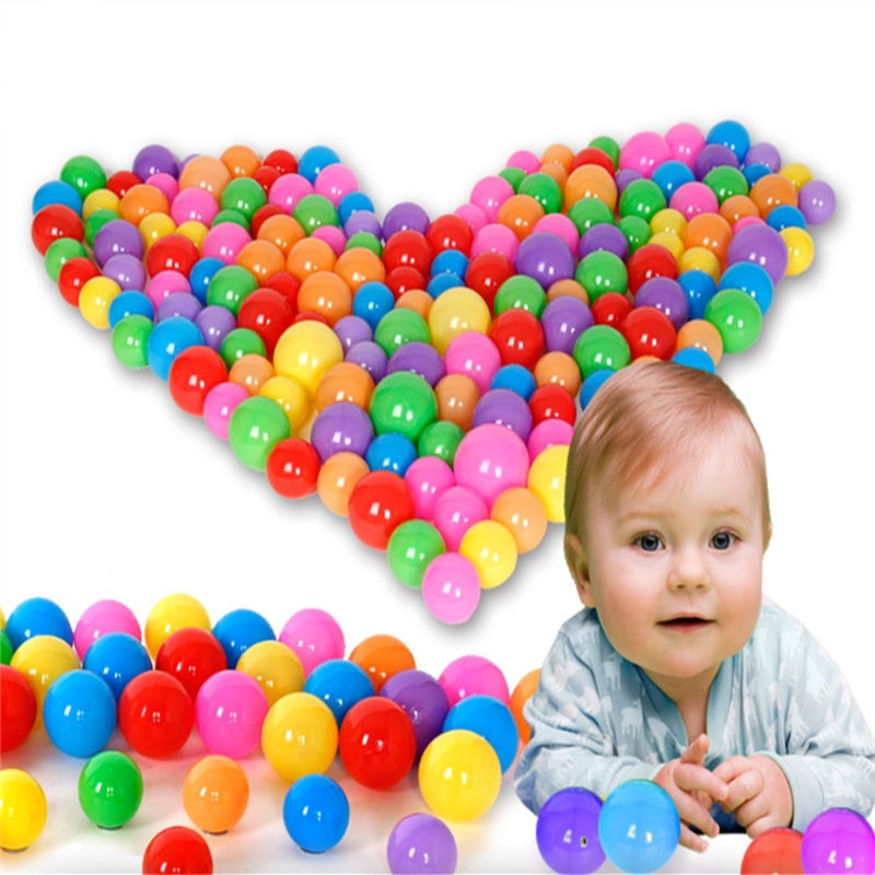 30 Pcs Colorful Plastic Balls Toys Soft Ocean Ball Balls For The Pool Baby Kids Water Pool Ocean Toys Swim Pit Toy For Children