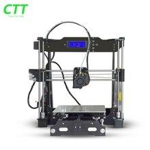 Новые Модернизированный 3D комплекты принтера высокое качество Новый дизайн рабочего стола 3d принтера Multi-Поддержка Языков