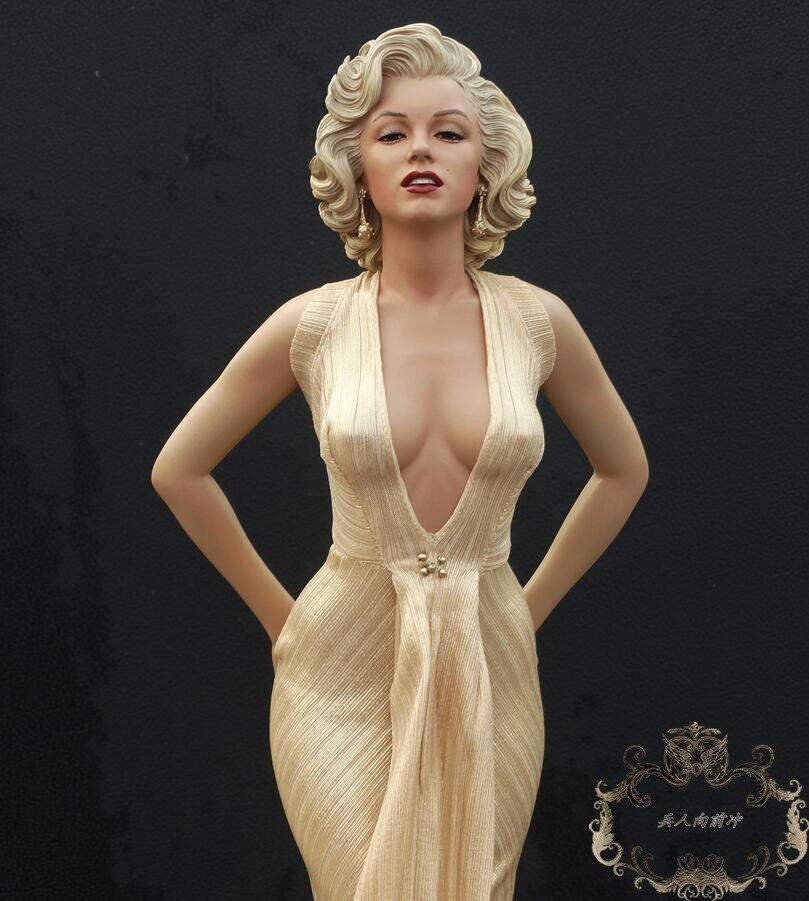 pvc figure model ornaments 1/4 Marilyn Monroe 6inch pvc figure a v a ta r model ornaments 2pcs set
