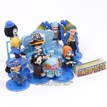 One Piece  10pcs/set Luffy Zoro PVC Figure Toy