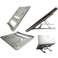 Aluminum alloy Folding lifting portable bracket Laptop stand for Macbook mac book HP lenovo huawei tabletPC base heat sink