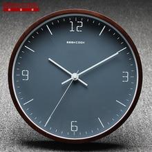 geekcook 10 inch small wall clock modern design desktable clocks home decor bedroom