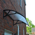 YP100120 100x120cm 39x47in depth 100cm width 120cm clear/white/black shades awnings canopies awnings ,polycarbonate awning