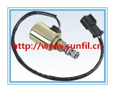 Wholesale High quality  solenoid Valve(Column),excavator parts 20Y-60-11713,Free shipping 1157 bay15d 2 3w 13 5050 smd led red car turn signal brake reversing light pair 12v