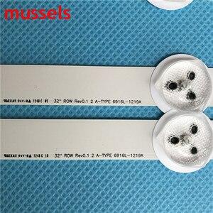 """Image 3 - Светодиодная лента подсветка для 32 """"LG TV L32F1500 3D 6916L 1220A 6916L 1219A 6916L 1111A 6916L 1112A LED32M3560PDE LC320DXN (SF) (U3)"""