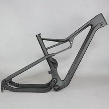 Бесплатная доставка Серафим подвеска Рама 27.5er boost и 29er Boost MTB карбоновая велосипедная рама XC 29er boost подвеска рама