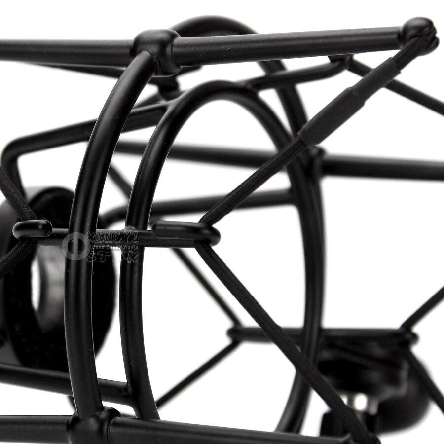 Heimelektronik Zubehör Liefern Metall Shock Mount Spinne Mikrofon Shockmount Desktop Stehen Mic Clip Halter Stoßfest Für Mxl Studio Aufnahme Rundfunk Pc