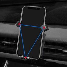 Для Toyota Camry 2018 2019 автомобилей Air Vent крепление регулируемый держатель телефона стенд для мобильного телефона стабильный колыбели