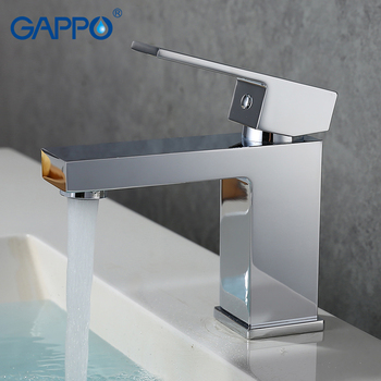 GAPPO Contemporary Basin faucet mixer tap bathroom deck mounted mixer tap faucet waterfall bathroom sink faucet llave de agua 1