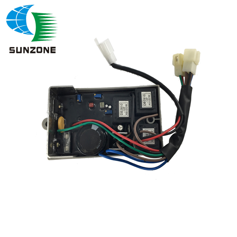 Generator Parts Three Phase 10KW Automatic Voltage Regulator AVR KI-DAVR-95S3 for Kipor free shipping 3 phase three phase gasoline generator 10kw spare parts suit for any generator automatic voltage regulator 10 wire