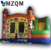 MZQ 4*3 Прыжки джемпер надувные прыгающий замок надувной батут замок дети Игрушки для маленьких детей
