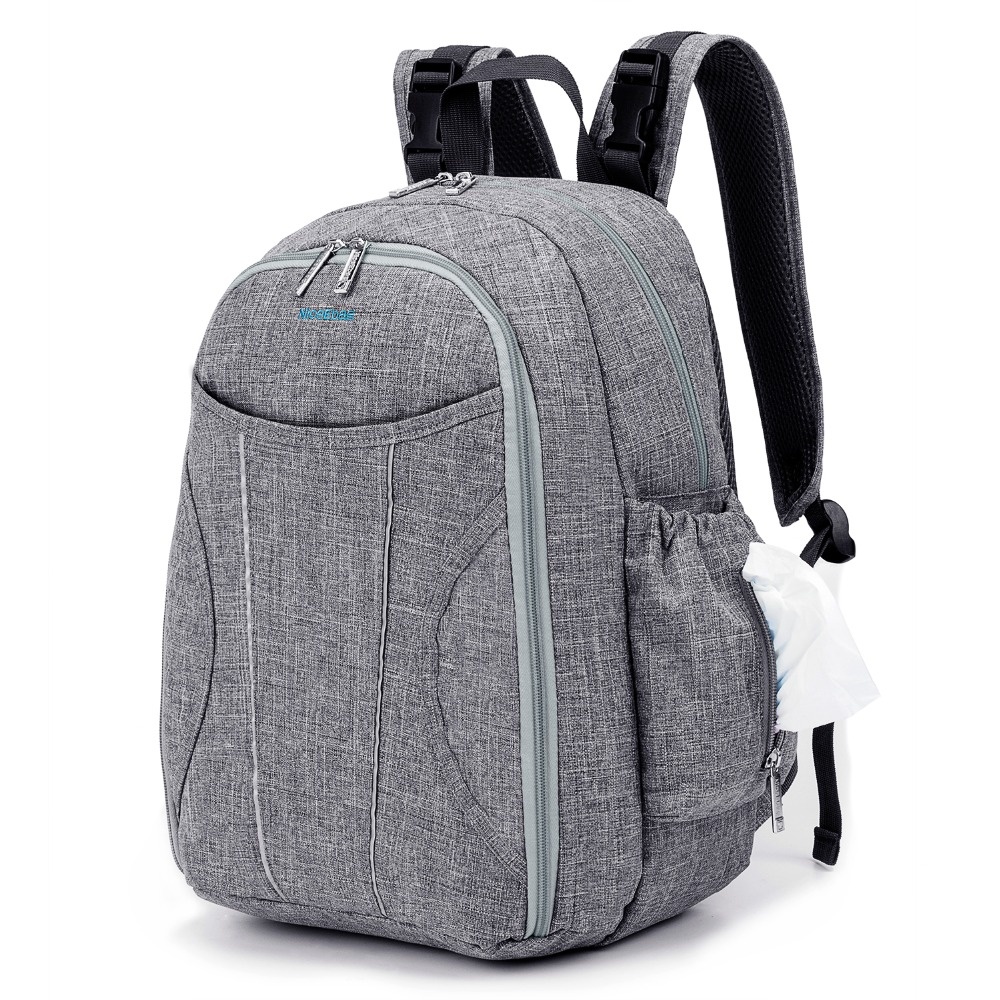 Baby Diaper Bag Large Capacity Nappy Backpack Bag With Changing Pad and Insulated Bag Baby Care